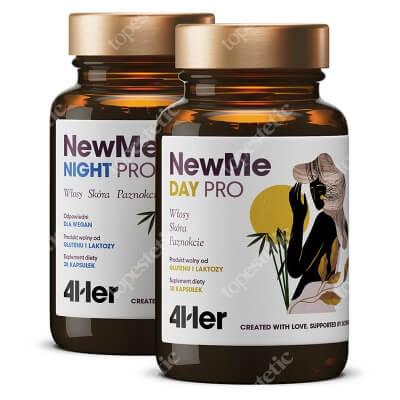 HealthLabs NewMe PRO Lśniące włosy, mocne paznokcie i promienna cera 60 kaps.