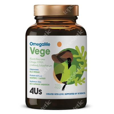 Health Labs Care OmegaMe Vege Suplement diety 60 kaps.