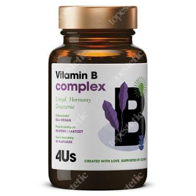 HealthLabs Vitamin B Complex Pamięć, koncentracja i wsparcie układu nerwowego 60 kaps.