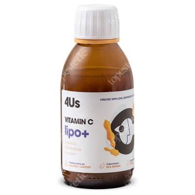 HealthLabs Vitamin C Lipo+ Wsparcie odporności, poprawa witalności 150 ml