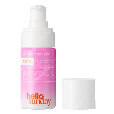 Hello Sunday The Everyday One, Face Moisturiser SPF 30 Naprawczo-nawilżający krem wzmacniający syntezę kolagenu 50 ml