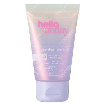 Hello Sunday The One That's Got It All Krem-baza pod codzienny makijaż z wit.C i ekstraktem z ryżu 50 ml