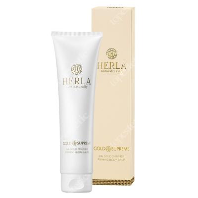 Herla 24k Gold Shimmer Firming Body Balm Rozświetlający balsam do ciała z płatkami złota 150 ml