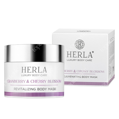 Herla Cranberry and Cherry Blossom Body Mask Żurawina i kwiat wiśni - maska do ciała 200 ml