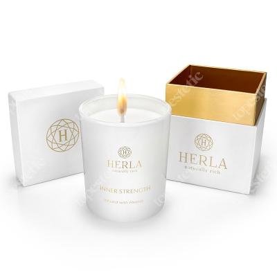 Herla Frezja Candle Świeca na bazie wosku sojowego 200 g