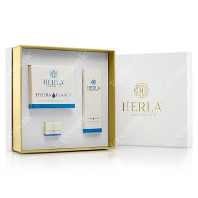 Herla Hydra Plants ZESTAW Nawilżający krem na dzień 50 ml + 5 ml + Nawilżające serum 30 ml