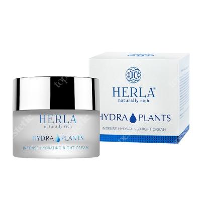 Herla Intense Hydrating Night Cream Intensywnie nawilżający krem na noc 50 ml