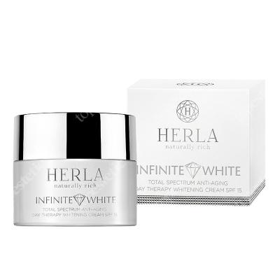 Herla Total Spectrum Anti Aging Day Therapy Cream SPF 15 Przeciwstarzeniowy krem wybielający przebarwienia z ochroną na dzień 50 ml