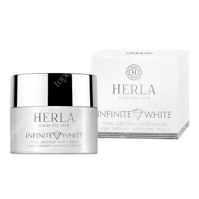 Herla Total Spectrum Moisturizing Night Therapy Cream Nawilżający krem wybielający przebarwienia na noc 50 ml