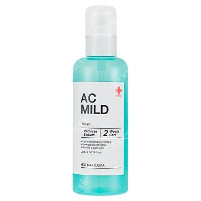 Holika Holika AC & MILD Clear Toner Oczyszczający tonik przeznaczony do skóry tłustej, problematycznej i trądzikowej 200 ml