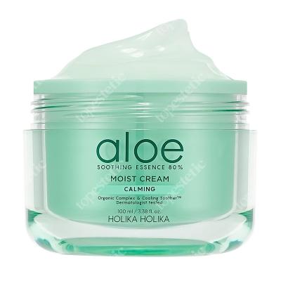 Holika Holika Aloe Calming Moist Cream Lekki krem nawilżający z ekstraktem z aloesu 100 ml