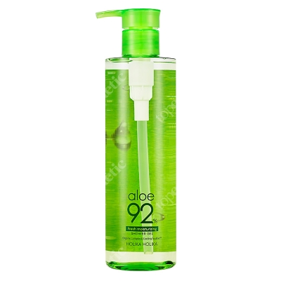 Holika Holika Aloe Shower Gel Żel pod prysznic z sokiem z aloesu 390 ml
