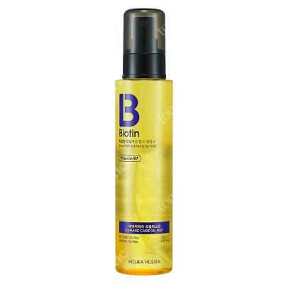 Holika Holika Biotin Damage Care Oil Mist Dwufazowa, odżywcza mgiełka do włosów z biotyną ułatwiająca rozczesywanie 120 ml
