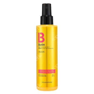 Holika Holika Biotin Style Care Ultra Fixing Spray Spray do stylizacji włosów z biotyną 180 ml