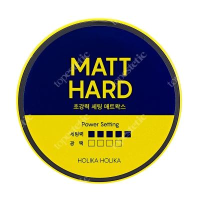 Holika Holika Biotin Style Care Ultra Holding Matt Wax Matowy wosk do stylizacji włosów z biotyną 80 ml