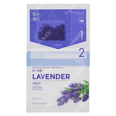 Holika Holika Brewed Mask Sheet Lavender Dwuskładnikowa maseczka do twarzy z lawendą 1 szt.