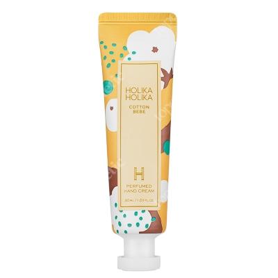 Holika Holika Cotton Bebe Perfume Hand Cream Krem nawilżający do rąk o zapachu bawełny 30 ml