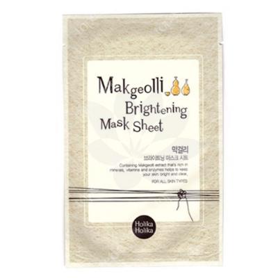 Holika Holika Makgeolli Brightening Mask Rozjaśniająca maseczka na bawełnianej płachcie 1 szt.