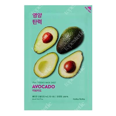 Holika Holika Pure Essence Mask Sheet - Avocado Maseczka bawełniana z ekstraktem z awokado 1 szt.