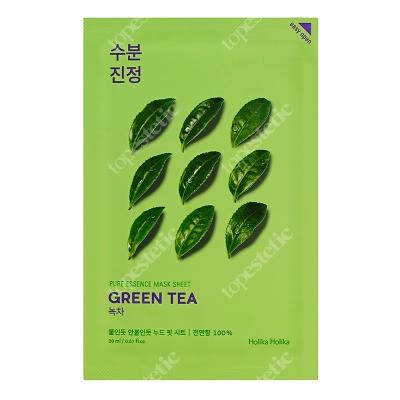 Holika Holika Pure Essence Mask Sheet - Green Tea Maseczka bawełniana z ekstraktem z zielonej herbaty 1 szt.