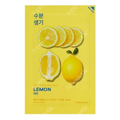 Holika Holika Pure Essence Mask Sheet - Lemon Maseczka bawełniana z ekstraktem z cytryny 1 szt.