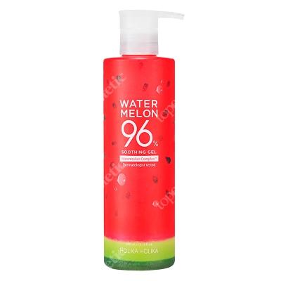 Holika Holika Water Melon Soothing Gel Nawilżający, lekki żel do ciała oraz twarzy z zawartością 96% ekstraktu z arbuza 390 ml