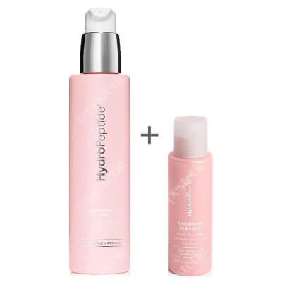 Hydropeptide Cashmere Cleanse + Travel Size ZESTAW Mleczko różane 200 ml + Mleczko różane 50 ml