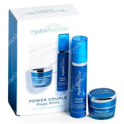 Hydropeptide Power Couple Mega Minis ZESTAW Intensywne serum liftingujące zmarszczki 10 ml + Intensywny, liftingujący krem nawilżający 5 ml