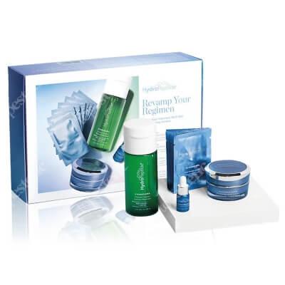 Hydropeptide Revamp Your Regimen Kit ZESTAW Rozjaśniająca maska 15 ml + Esencja probiotyczna 118 ml + Serum z witaminą C 3 ml + Chusteczka oczyszczająca 7 szt