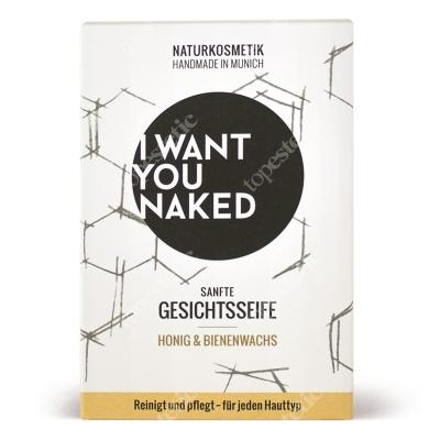 I want you naked Face Soap Honey And Beeswax Mydło do twarzy - miód i wosk pszczeli 100 g