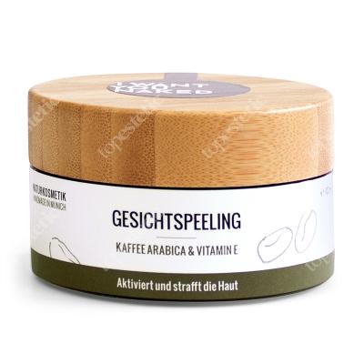 I want you naked Facepeeling Coffee Arabica Peeling do twarzy - kawa arabica i witamina E, 100 ml