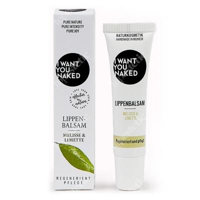 I want you naked Lip Balm Melissa and Lime Balsam do ust - melisa i limonka 10 ml
