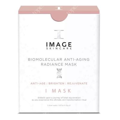 Image Skincare Biomolecular Anti Aging Radiance Mask Odmładzająca i rozjaśniająca maska z hydrożelem 5x17 g
