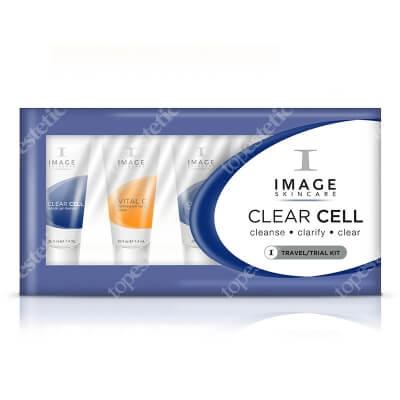 Image Skincare Clear Cell Trial Kit ZESTAW podróżny dla cer trądzikowych, ze skłonnością do przetłuszczania się, tłustych 5x7,4 ml