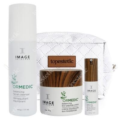 Image Skincare Ormedic Set ZESTAW Krem 56,7 ml +Preparat oczyszczający 177 ml + Krem 14,8 ml + Kosmetyczka