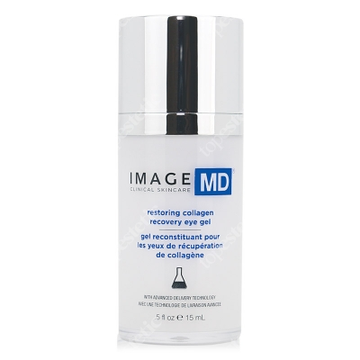 Image Skincare Restoring Collagen Recovery Eye Gel Intensywna kuracja odbudowująca kolagen,wygładzająca zmarszczki i rozświetlająca 15 ml