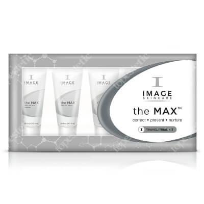 Image Skincare The MAX Trial Kit ZESTAW podróżny dla skóry dojrzałej, wymagającej regeneracji, odżywiania i ochrony 5x7,4 ml