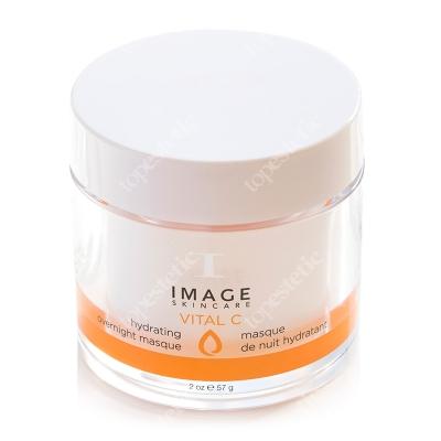 Image Skincare Vital C Hydrating Overnight Masque Komfortowa żelowa maska intensywnie rozświetlająca i wygładzająca 57 g