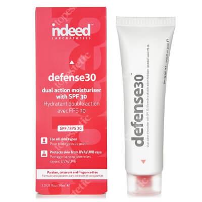 Indeed Defense 30 Nawilżający krem ochronny o szerokim spektrum ochrony przeciwsłonecznej SPF 30 30 ml