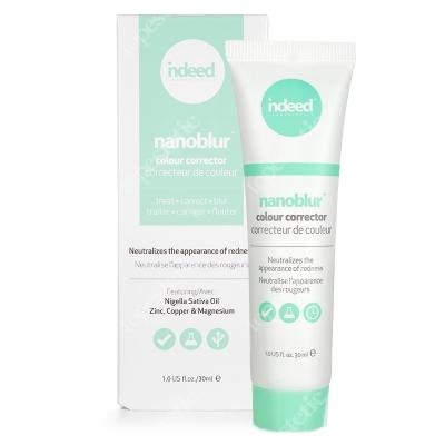 Indeed Nanoblur Colour Corrector Green Korygujący krem do zaczerwienionej skóry - zielony 30 ml
