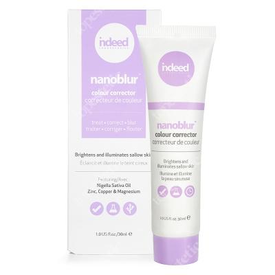 Indeed Nanoblur Colour Corrector Purple Korygujący krem rozświetlający skórę 30 ml