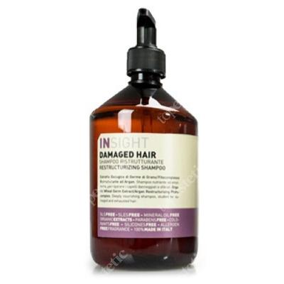 InSight Damaged Hair Restructurizing Shampoo Szampon odbudowujący do włosów zniszczonych 400 ml