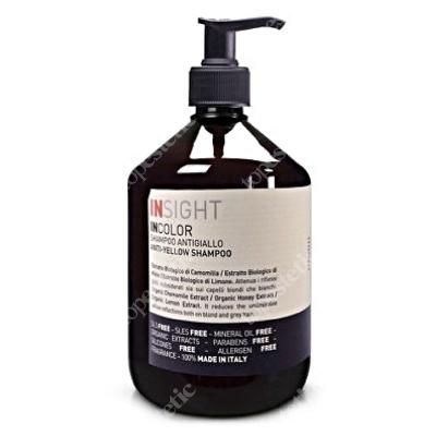 InSight InColor Anti Yellow Shampoo Szampon niwelujący żółte tony 400 ml
