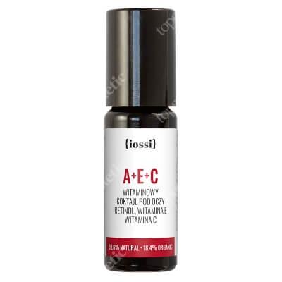 Iossi A+E+C Witaminowy koktajl pod oczy. Retinol, wit. E i C (metalowa kulka) 10 ml