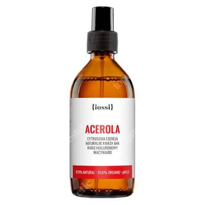 Iossi Acerola Cytrusowa esencja z kwasami AHA, kwasem hialuronowym i niacynamidem 200 ml