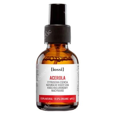 Iossi Acerola Cytrusowa esencja z kwasami AHA, kwasem hialuronowym i niacynamidem 50 ml