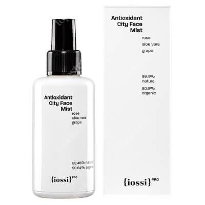 Iossi Antioxidant City Face Mist Antyoksydacyjna mgiełka do twarzy, szyi i dekoltu z hydrolatem z róży 100 ml