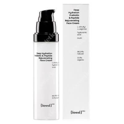 Iossi Deep Hydration Prebiotic and Peptide Face Cream Nawilżający krem do twarzy z naturalnym peptydem z czerwonej algi 50 ml