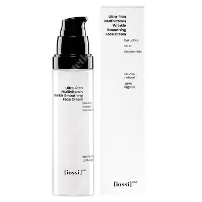 Iossi Ultra Rich Multivitamin Face Cream Wygładzający, bogaty krem do twarzy z wit. C, B3 i E, 50 ml