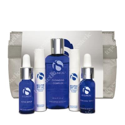 iS Clinical Clearing Kit ZESTAW podróżny czysta skóra 15 ml, 10 g, 60 ml, 10 g, 15 ml